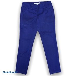 Dynamite Purple Skinny Ankle Pants